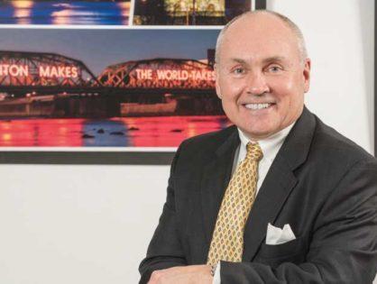 GEORGE SOWA DISCUSSES CITY'S DEVELOPMENT POSSIBILITIES