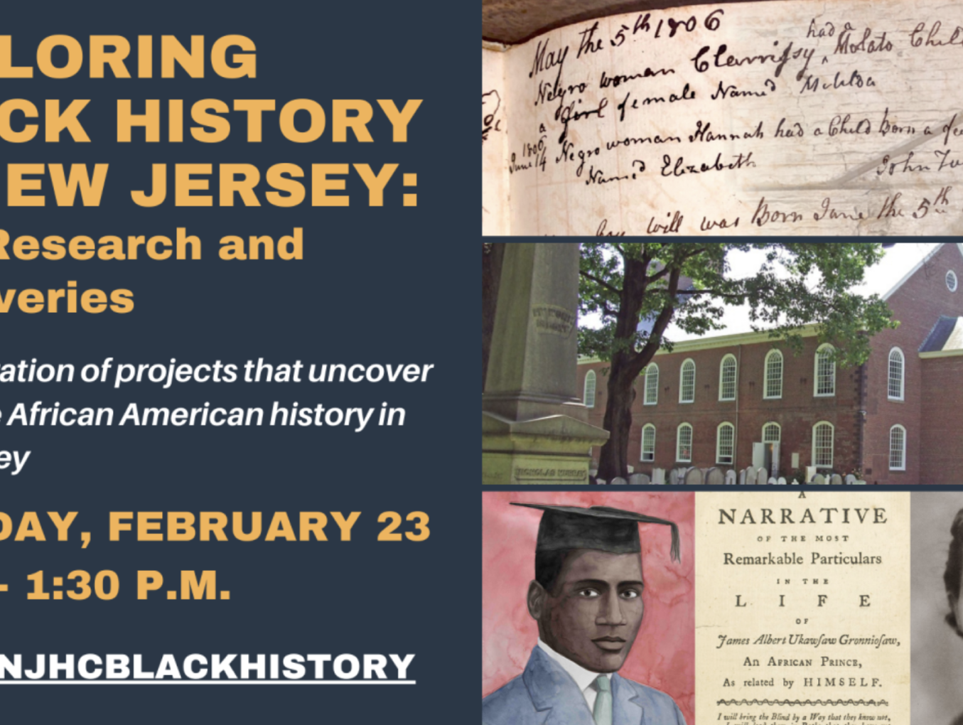 Exploring Black History in New Jersey: New Research and Discoveries