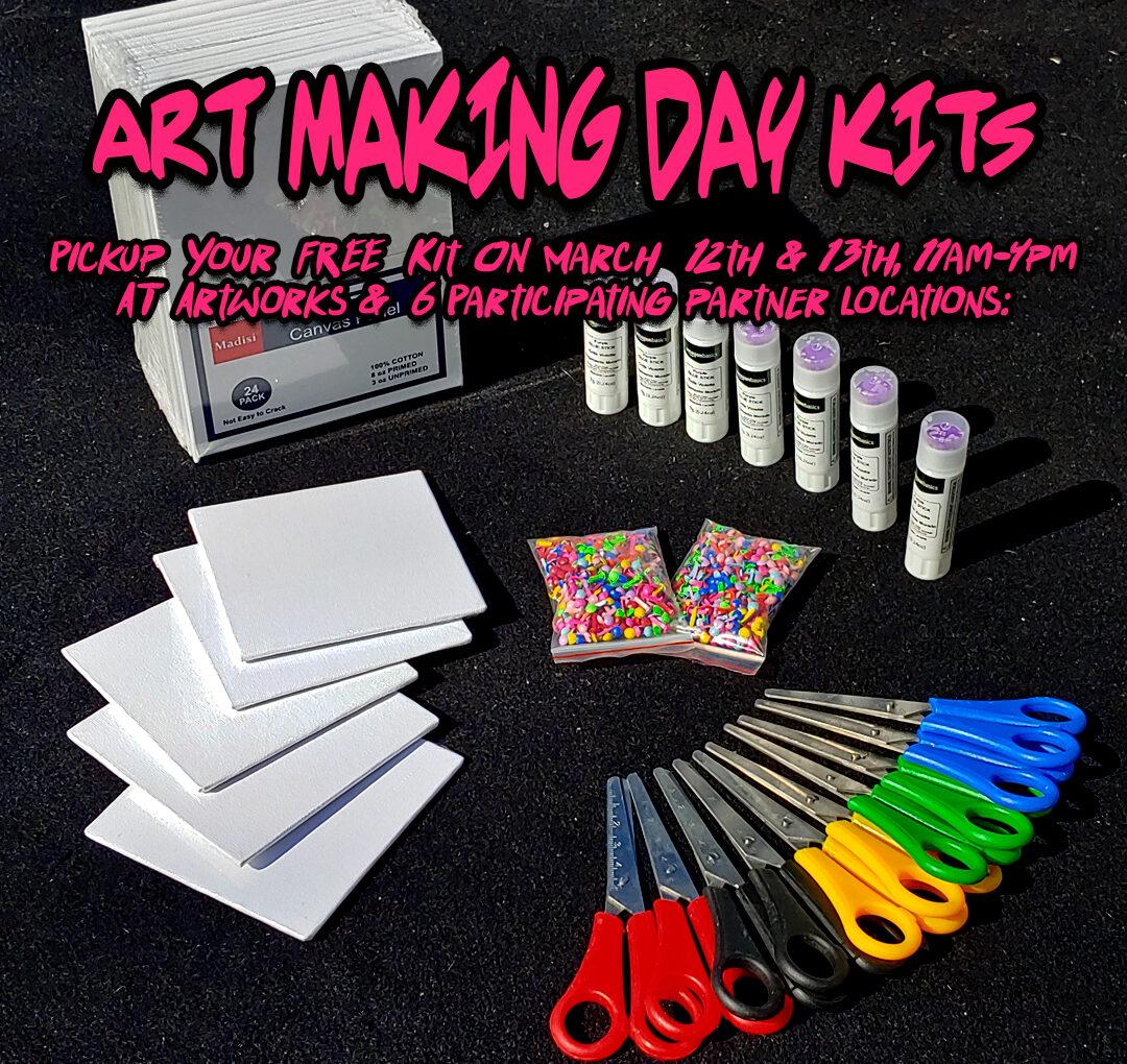 ArtWorks Trenton Hosts Art Making Day