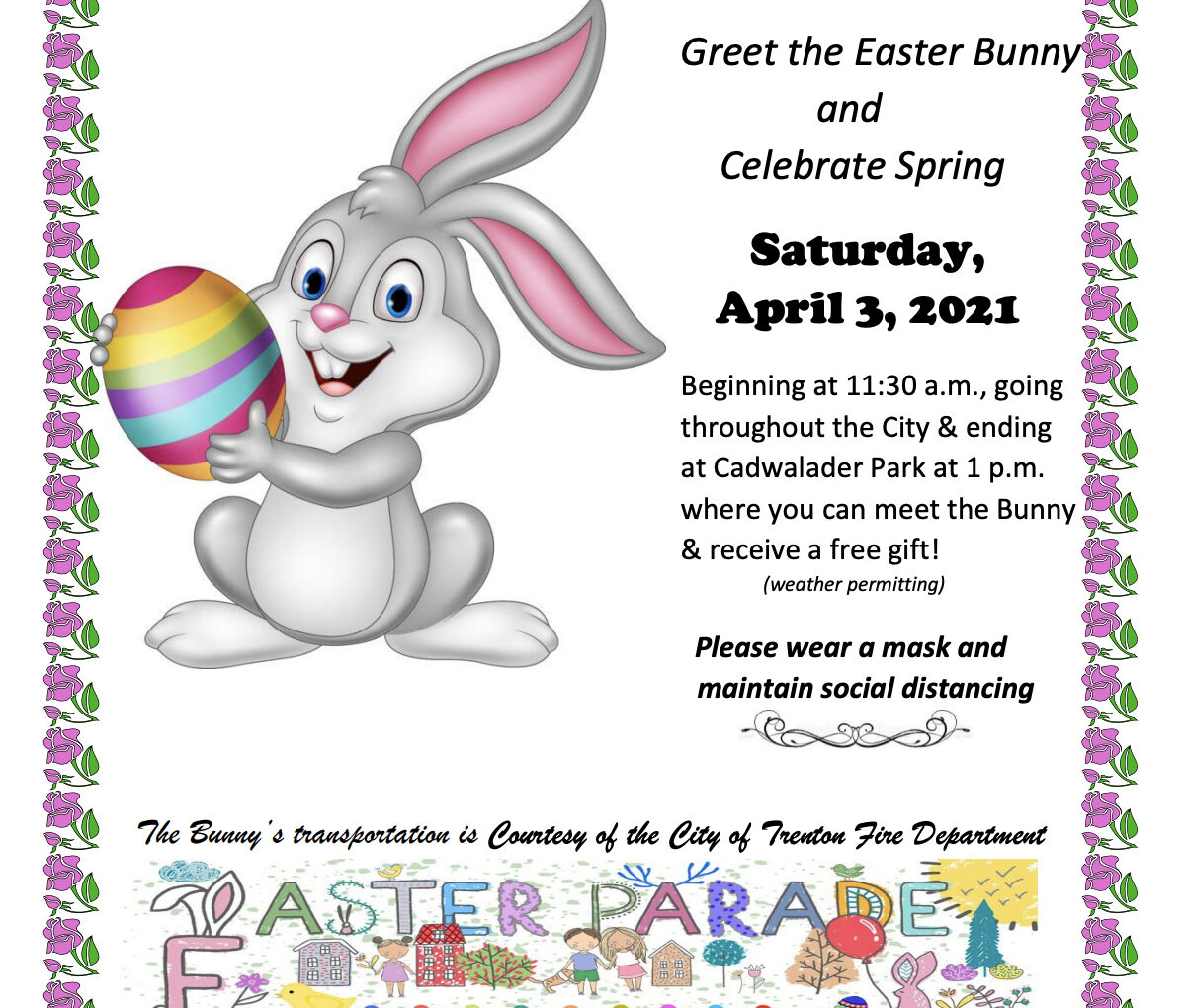 The Easter Bunny Comes to Trenton!