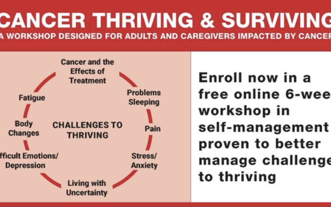 Cancer Thriving & Surviving: A Free Workshop Series