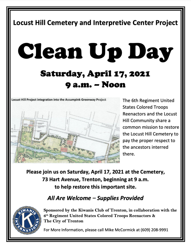 Clean Up Day this Saturday for the Locust Hill Development Project