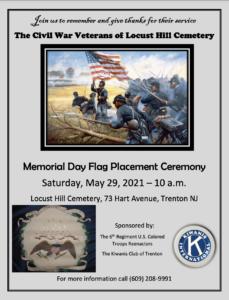 Locust Hill Flag Ceremony Remembers Trenton's Civil War Veterans