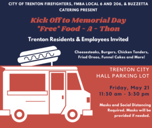 City of Trenton Firefighters, FMBA Local 6 And 206, and Buzzetta Catering Hosting Second Annual Food-A-Thon