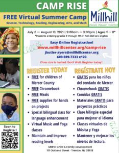 Millhill Child & Family Development's Range of Summer Youth Programs