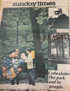 Trentoniana Photo Series: The Cadwalader Park Balloon Man