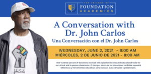 A Conversation with Dr. John Carlos