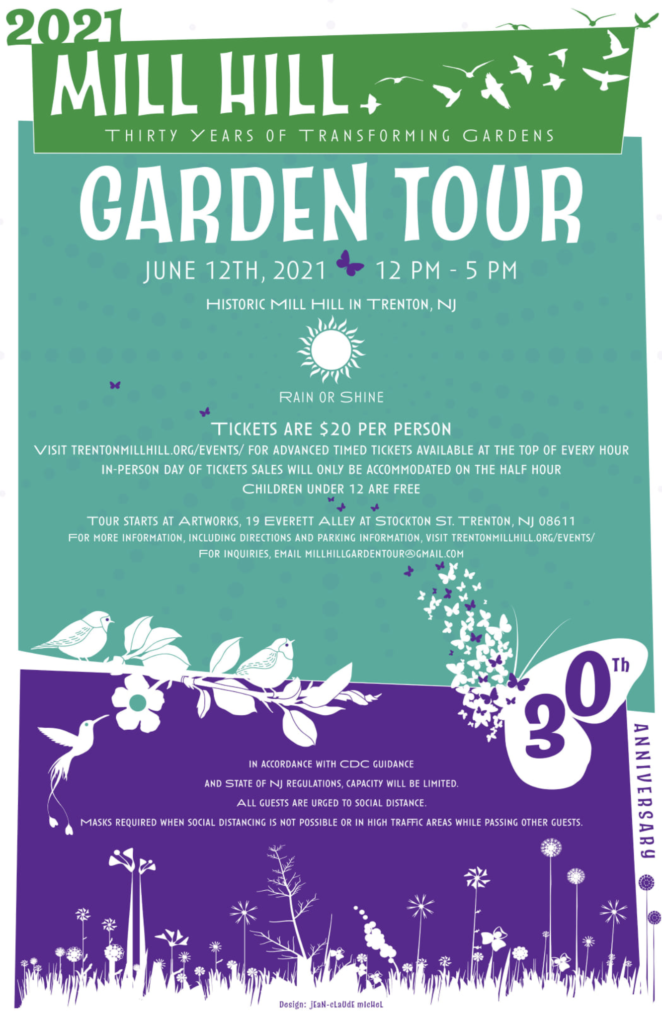 30th Annual Mill Hill Garden Tour Next Weekend