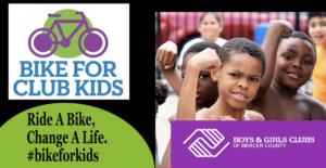 Bike for Club Kids All of June