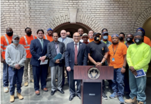Trenton Water Works Celebrates First Water and Sewer Job Training Graduating Class