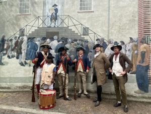 Trenton Community Members Honor the First Public Reading of the Declaration of Independence