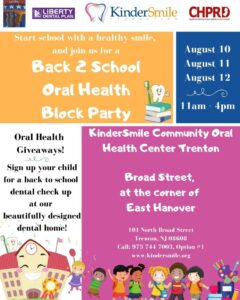 """""""Back 2 School"""" oral health block party today"""