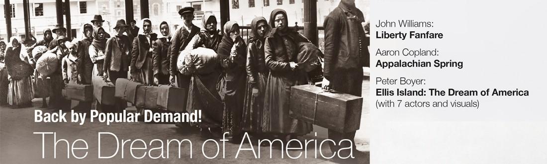 Peter Boyer's Ellis Island: The Dream of America