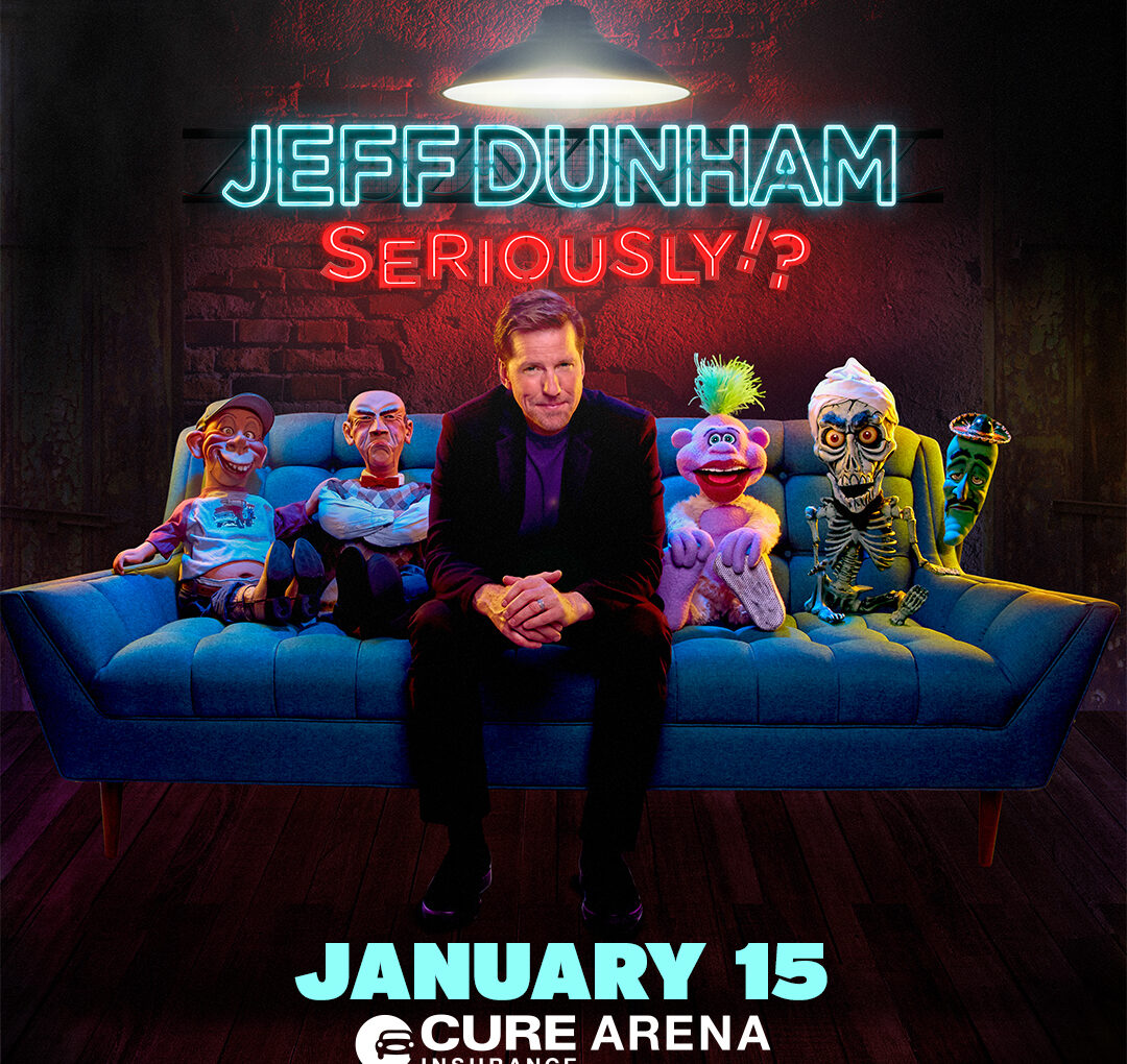 Comedian and Ventriloquist Jeff Dunham is Coming to Trenton